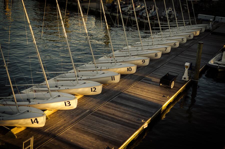 Small Boat Sailing: Teaching Sportsmanship